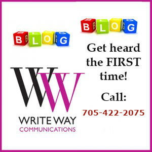Write Way Communications helps you get heard, the FIRST time!